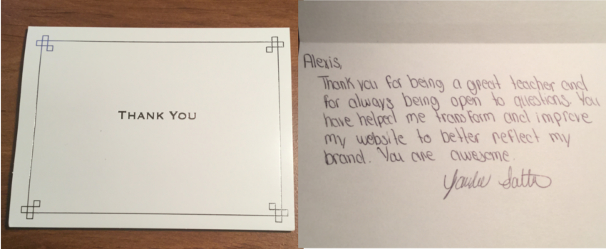 Tandee's Thank You Card Cover and Message_new3